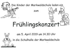 Frühlingskonzert 2019